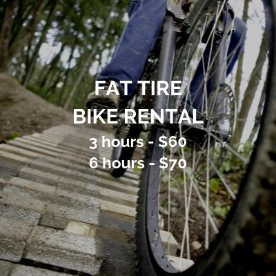 Copy of  Fat Tire Bike Rental